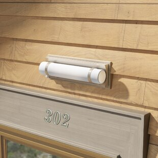 Deveral 1-Light 12W Outdoor Wall Sconce by Orren Ellis