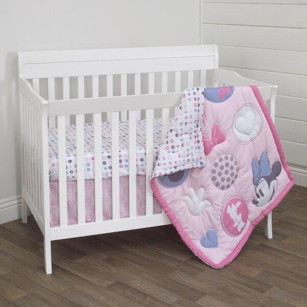 Pink Piping 3 Piece Cot Sheet Set // Pink Blanket Kidz Kiss Cot Bedding Set