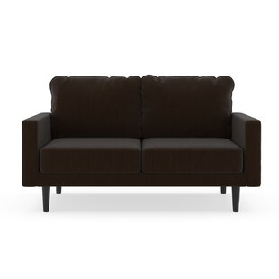 Schiller Satin Weave Loveseat by Orren Ellis Best Choices