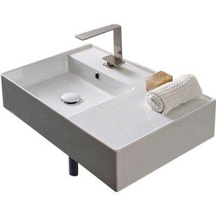 Modern Contemporary Teorema Wall Mounted Sink Allmodern