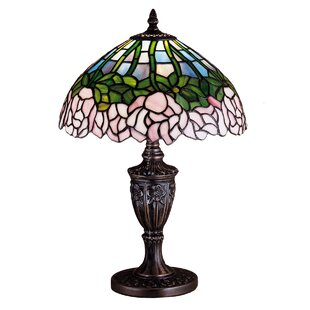 Cabbage Rose 18 Table Lamp