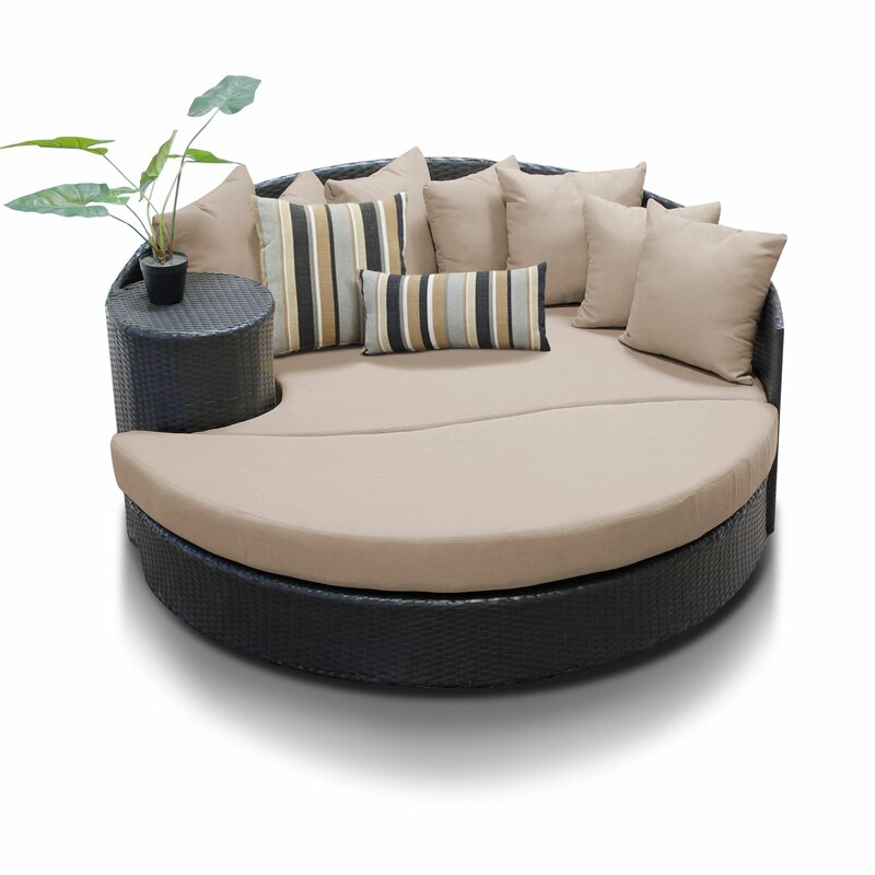 Canon Patio Daybed with Cushions
