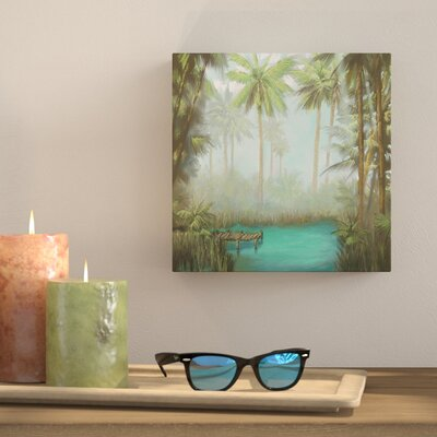 'Tropical' Print Bay Isle Home