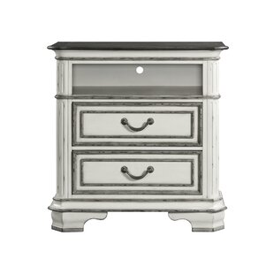 Newsom 2 Drawer Media Chest by House of Hampton Reviews