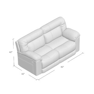 Colwyn Motion Reclining Loveseat Darby Home Co