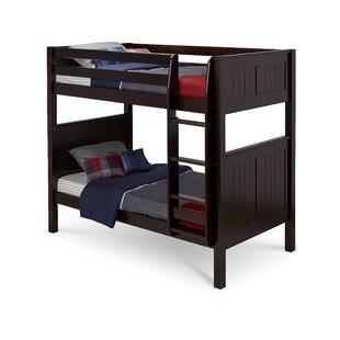 Inexpensive Oakwood Twin over Twin Bunk Bed by Harriet Bee Reviews (2019) & Buyer's Guide