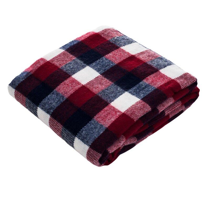 Lavish Home Plaid Throw Blanket Reviews Wayfair Stunning Cheap Plaid Throw Blanket