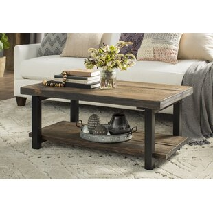 Veropeso 42 Wood/Metal Coffee Table