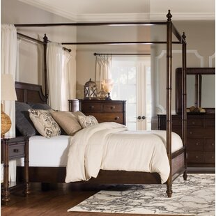 Passages Rattan Canopy Bed by Bombay Heritage