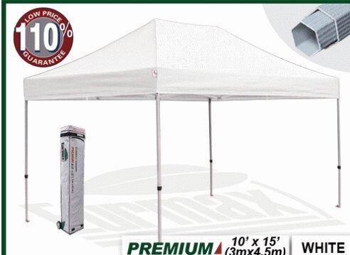 Premium 10 Ft. W x 15 Ft. D Aluminum Pop-Up Canopy  sc 1 st  Wayfair & Eurmax Premium 10 Ft. W x 15 Ft. D Aluminum Pop-Up Canopy ...