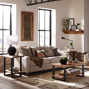 Bexton 3 Piece Coffee Table Set Foundry Select