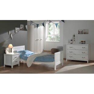 Aldrich 4 Piece Bedroom Set By Harriet Bee