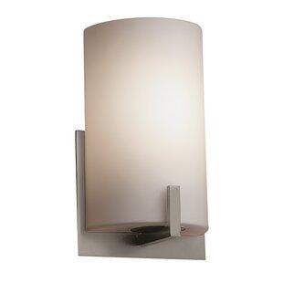 Brayden Studio Luzerne 1-Light LED Flush Mount