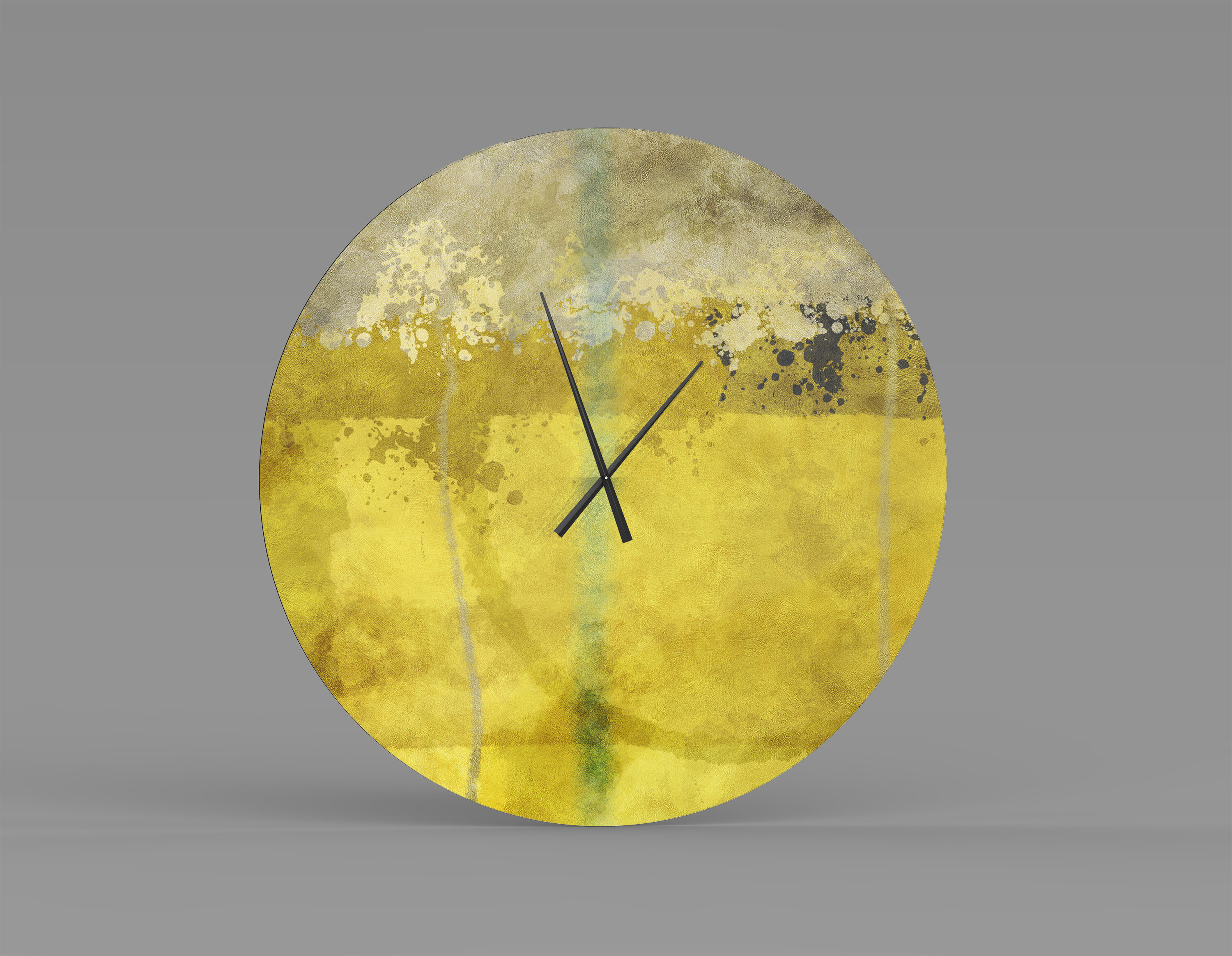 Orren Ellis Oversized Popa Wall Clock Wayfair