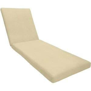 Knife Edge Outdoor Sunbrella Chaise Lounge Cushion
