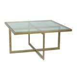 Ameliore Cross Legs Coffee Table by Orren Ellis