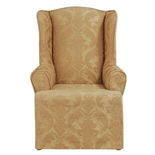 Bon Wing Chair Slipcovers Youu0027ll Love | Wayfair