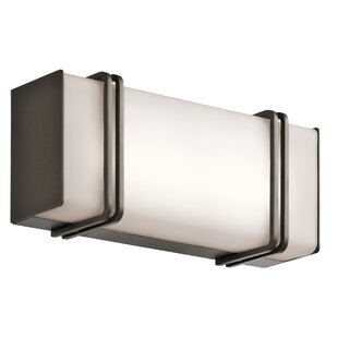 Orren Ellis Oliver 1-Light LED Bath Bar