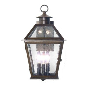 Inexpensive Corrina 3-Light Outdoor Wall Lantern By 2nd Ave Design
