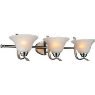 Read Reviews Cosmo 3-Light Vanity light By CWI Lighting