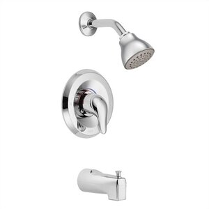 Chateau Tub and Shower Faucet with Lever Handle and Posi-Temp