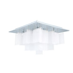 Brayden Studio Rachel 8-Light Semi Flush Mount