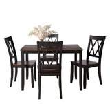 Otte 5 - Piece Dining Set by Red Barrel Studio®