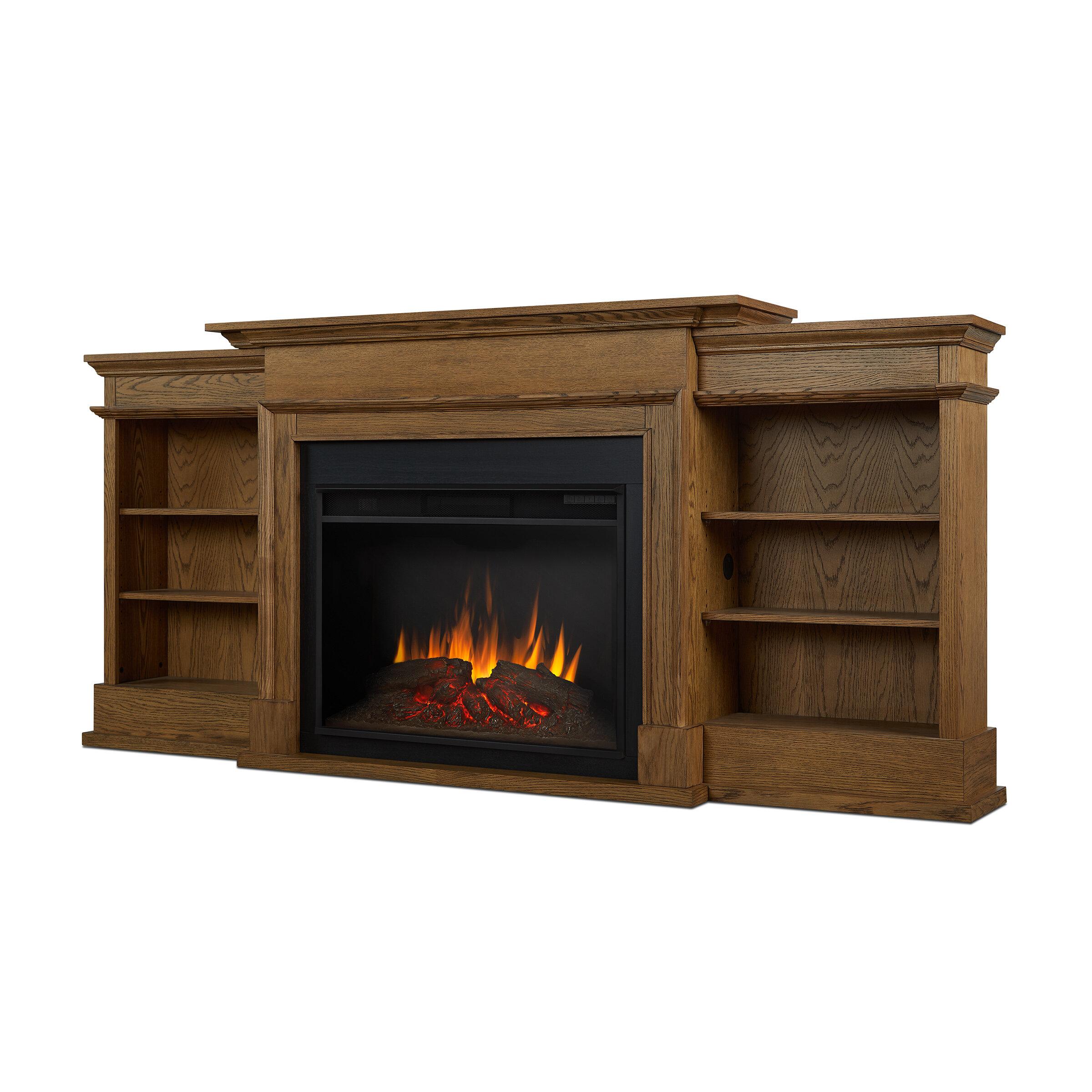 Real Flame Ashton Grand Media Electric Fireplace Reviews Wayfair
