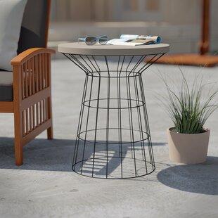 Traci Stone/Concrete Side Table