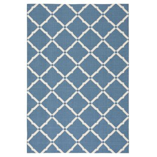 Crestmont Navy Indoor/Outdoor Area Rug
