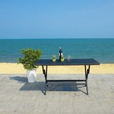 Ched Folding Rattan Dining Table