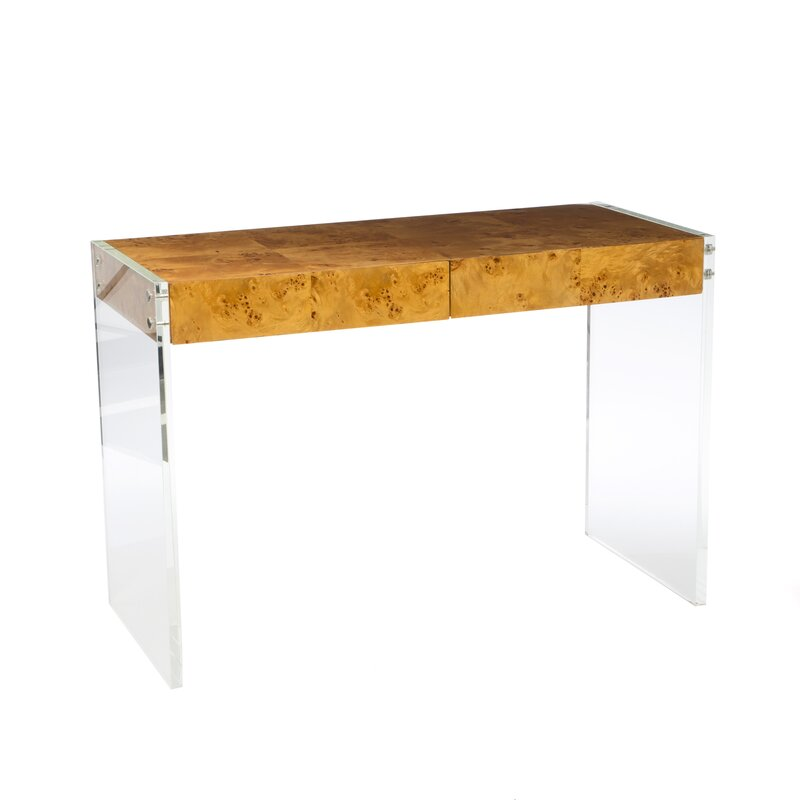 Merveilleux Bond Lucite Writing Desk