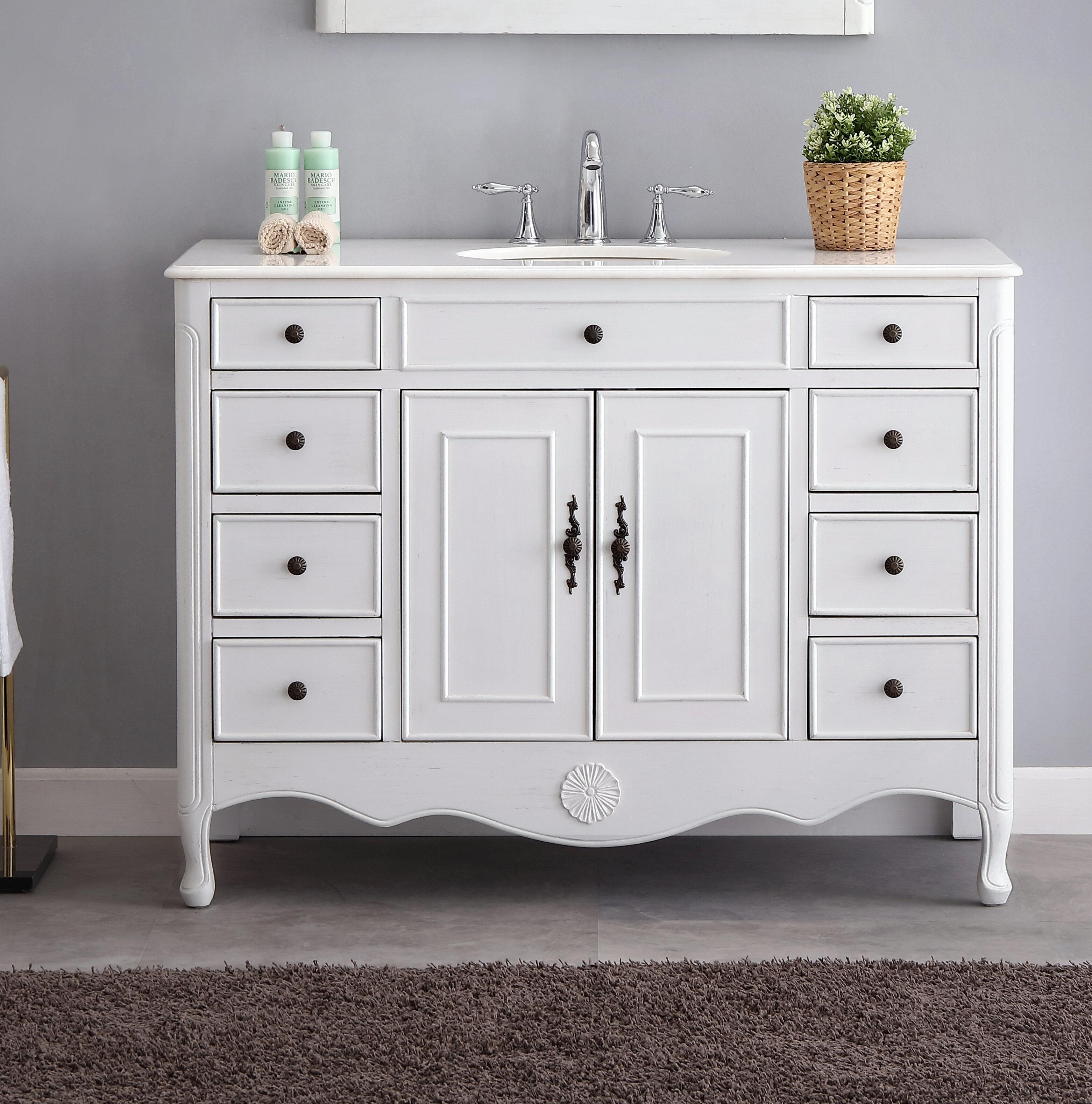 46 50 One Allium Way Bathroom Vanities You Ll Love In 2021 Wayfair