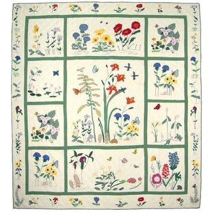 August Grove Anja Wildflower Quilt