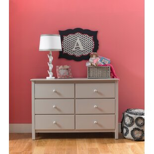 Charlotte Rose 6 Drawer Double Dresser by Fisher-Price