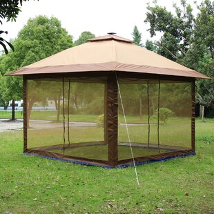 Suntime Fully Enclosed Canopy 12 Ft. W x 12 Ft. D Aluminum Pop-Up Gazebo