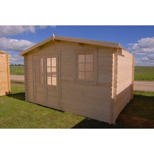 Optima 12 Ft. 6 In. W X 12 Ft. 6 In. D Wooden Storage Shed