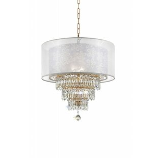 Reviews Lagrone 3-Light Chandelier By House of Hampton