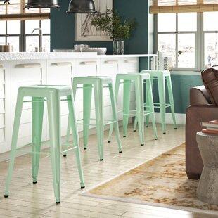 Trent Austin Design Halie Steel Barstool ..