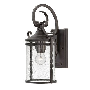 Fleur De Lis Living Carlyle Traditional 1-Light Outdoor Wall Lantern