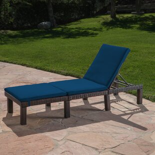 Breakwater Bay Figgs Reclining Chaise Lounge with Cushion