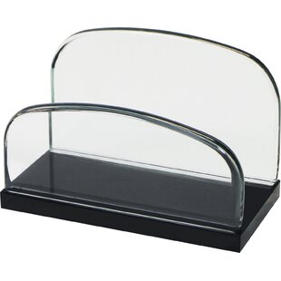Rebrilliant Kara Glass Card Holder (Set of 16)