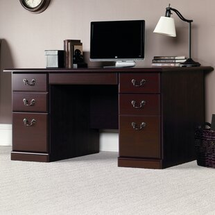 Clintonville 7 Drawer Computer Desk by DarHome Co Great Reviews