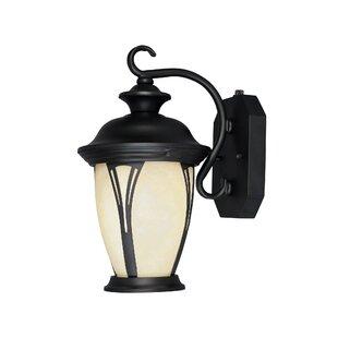 Charlton Home Kratzer 1-Light Outdoor Wall Lantern
