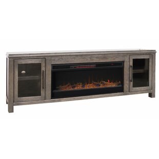 Cloyne TV Stand for TVs up to 85 with Fireplace by Gracie Oaks