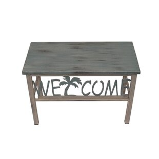 Highland Dunes Ishaan Welcome/Palm Wood Bench