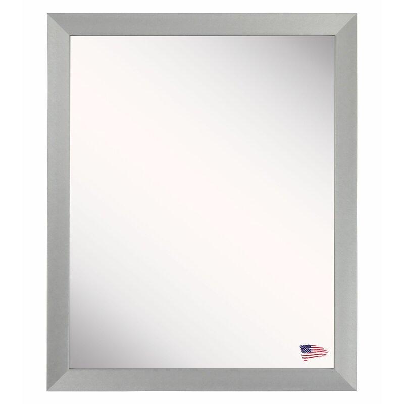 Latitude Run Metal Framed Wall Mirror Wayfair