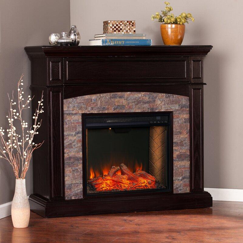 Latitude Run Grantham Convertible Alexa Enabled Fireplace