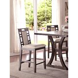 Nika Solid Wood 24 Counter Stool (Set of 2) by Winston Porter