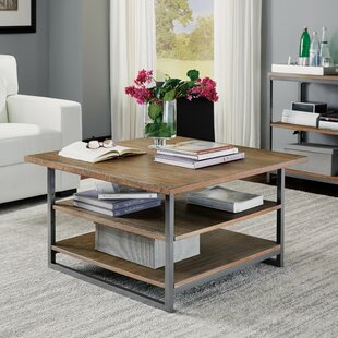 Deals Eckles Coffee Table with Storage by 17 Stories
